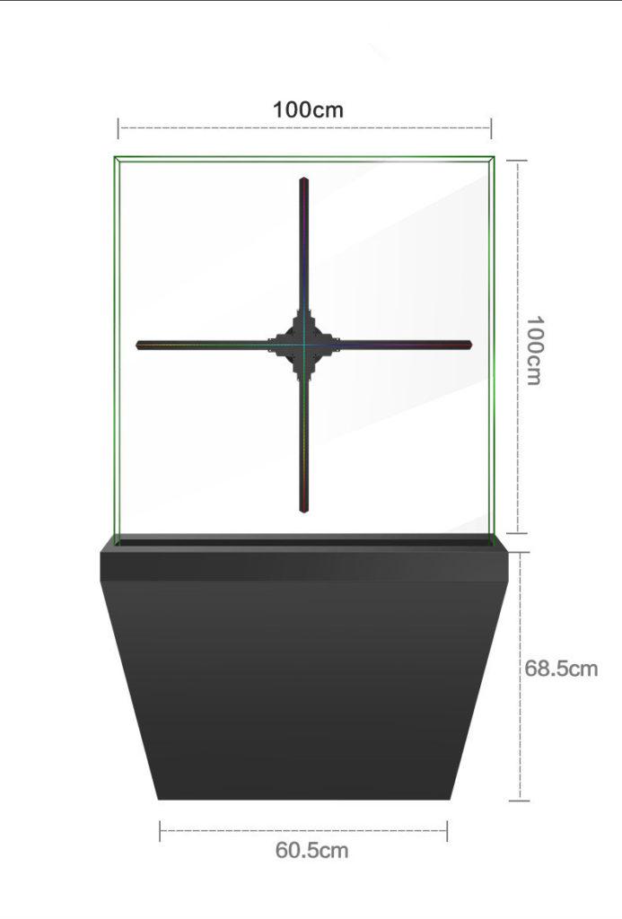 100cm Hologram Fan