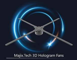 3D Hologram Fan